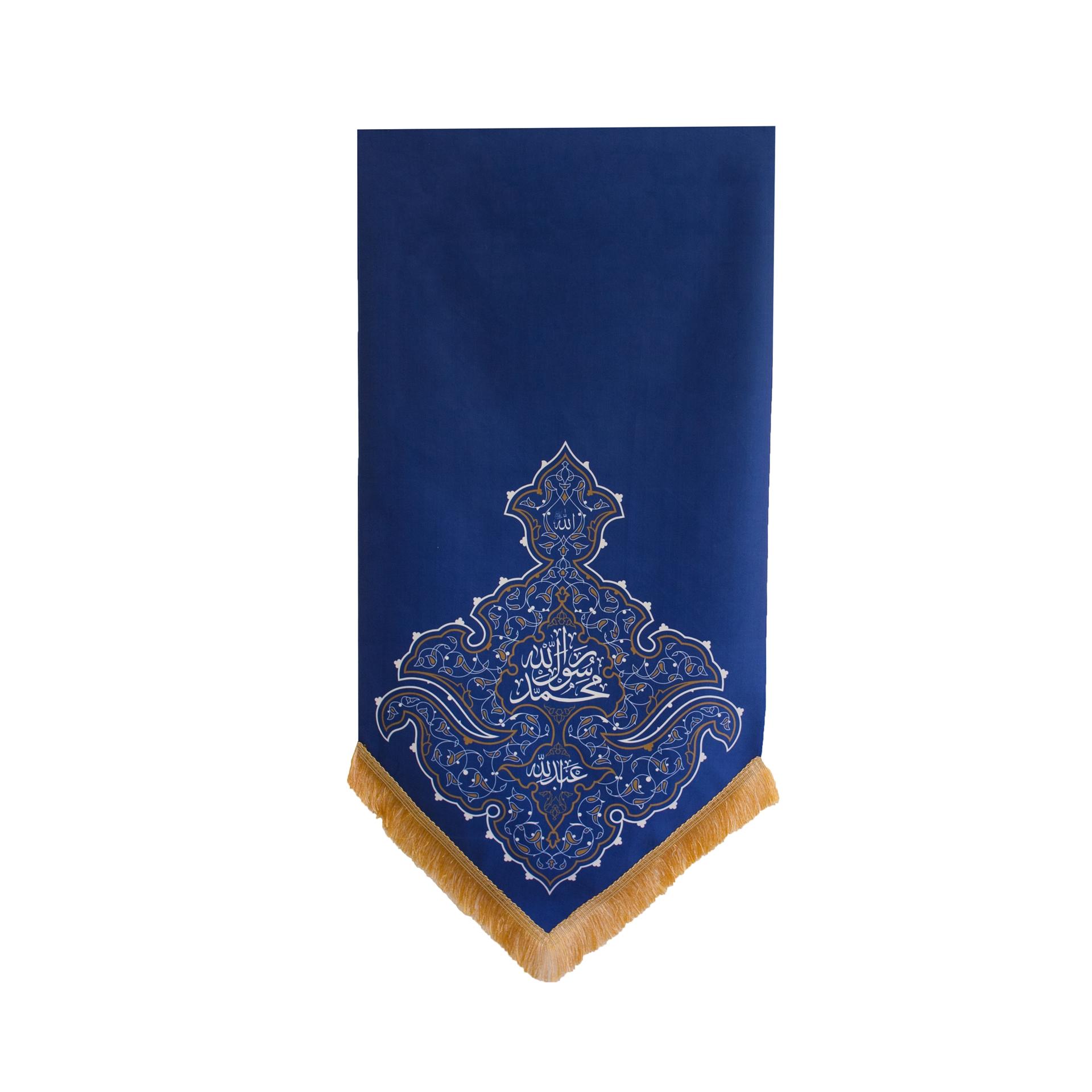 تصویر از بیرق مبعث طرح «محمد رسول الله»  ۷۵×۱۴۰ سانتیمتر