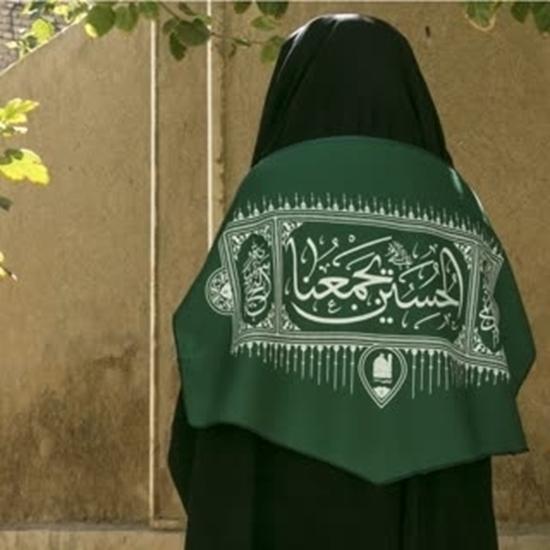 تصویر از رودوشی «الحسین یجمعنا» ۴٠*۴۵ سانتیمتر