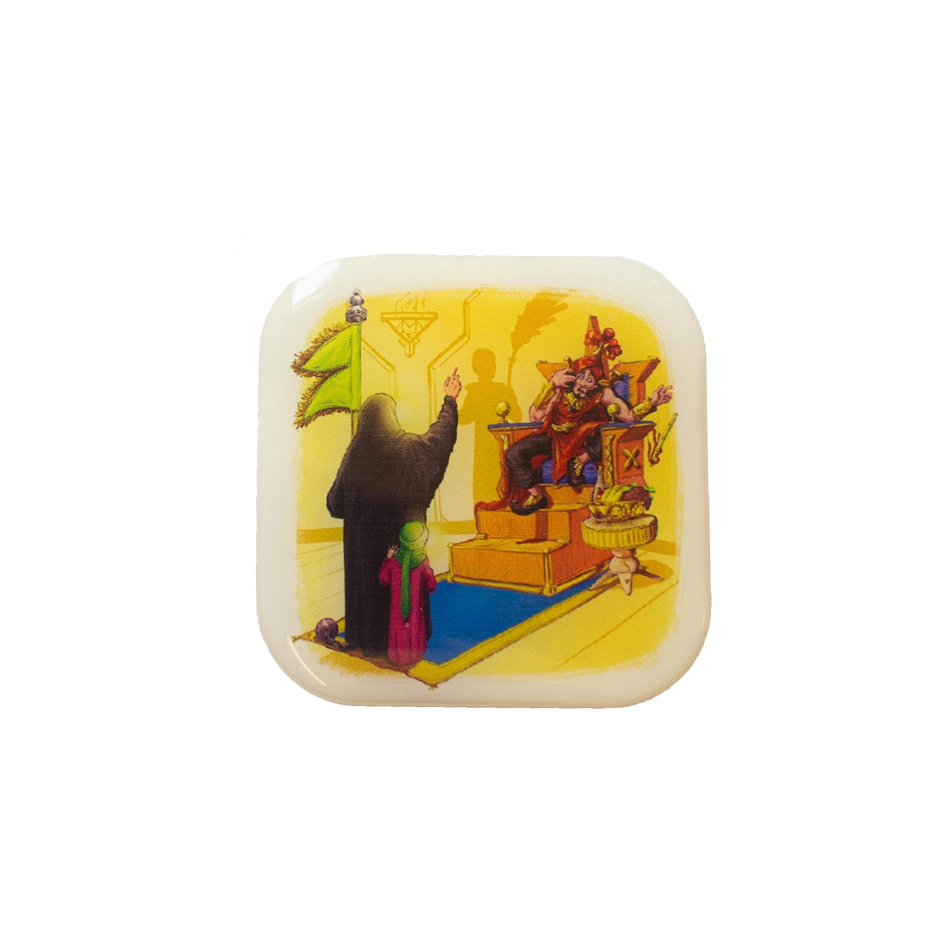 تصویر از استیکر کودک محرم طرح «خطبه حیدری»۴×۶ سانتیمتر