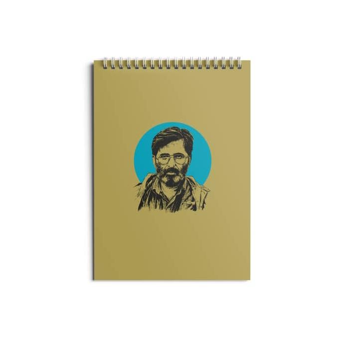 تصویر از دفتر ۸۰ برگ طرح «شهید مرتضی آوینی»