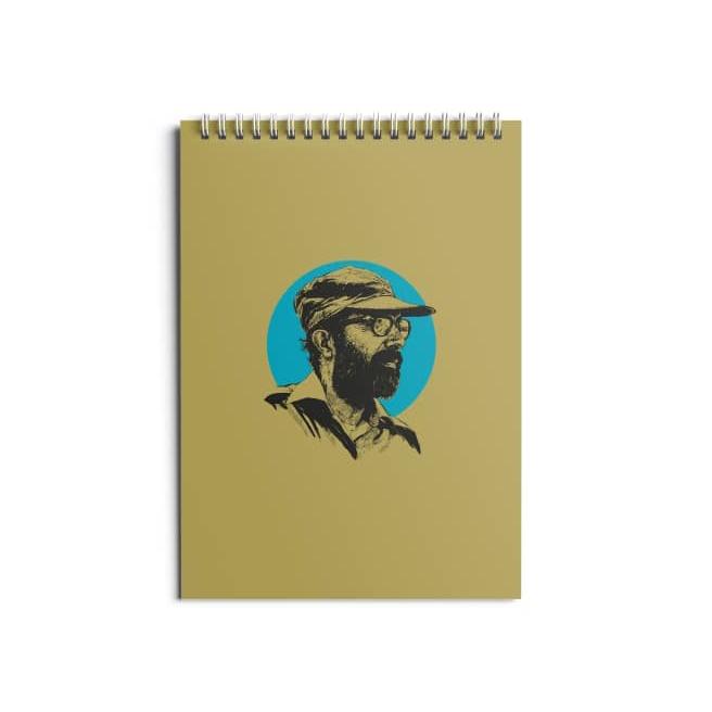 تصویر از دفتر ۸۰ برگ طرح «شهید مصطفی چمران»