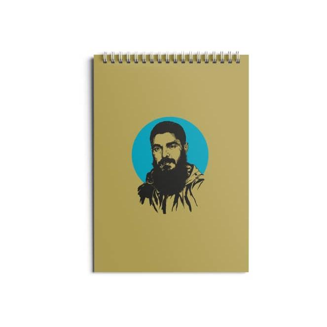 تصویر از دفتر ۸۰ برگ طرح «ابراهیم هادی»
