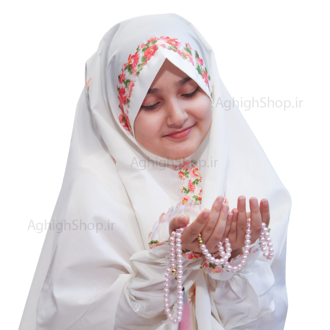 تصویر از بسته حجاب جشن تكليف(مدل بهاره)