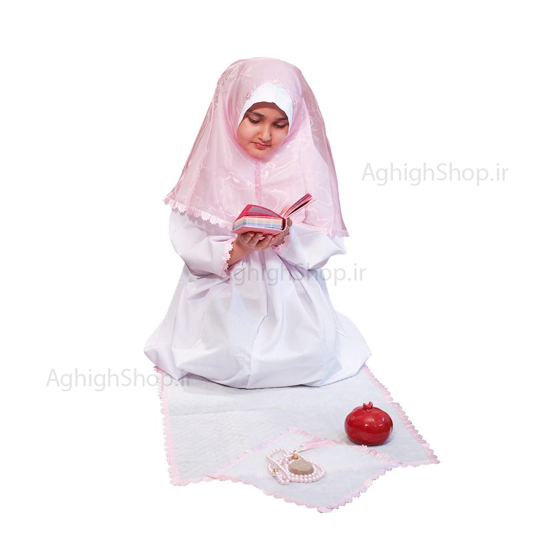 تصویر از بسته حجاب جشن تكليف(ست نسيم)