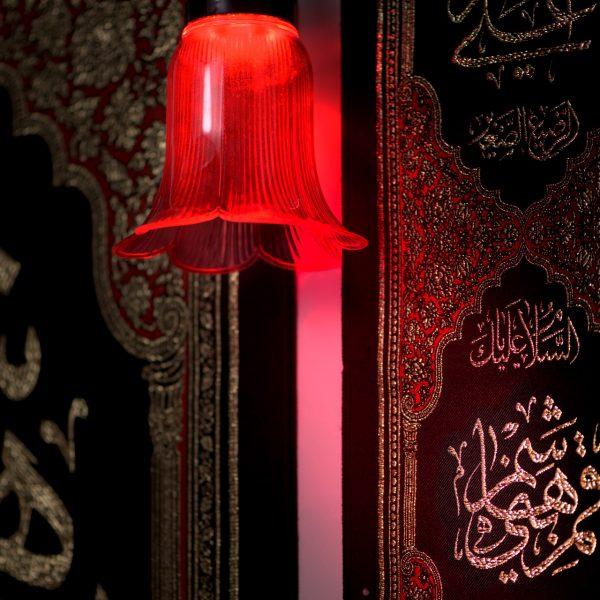 تصویر از آویز علامت محرم وصفر یا قمربنی هاشم کد ۲۵۶