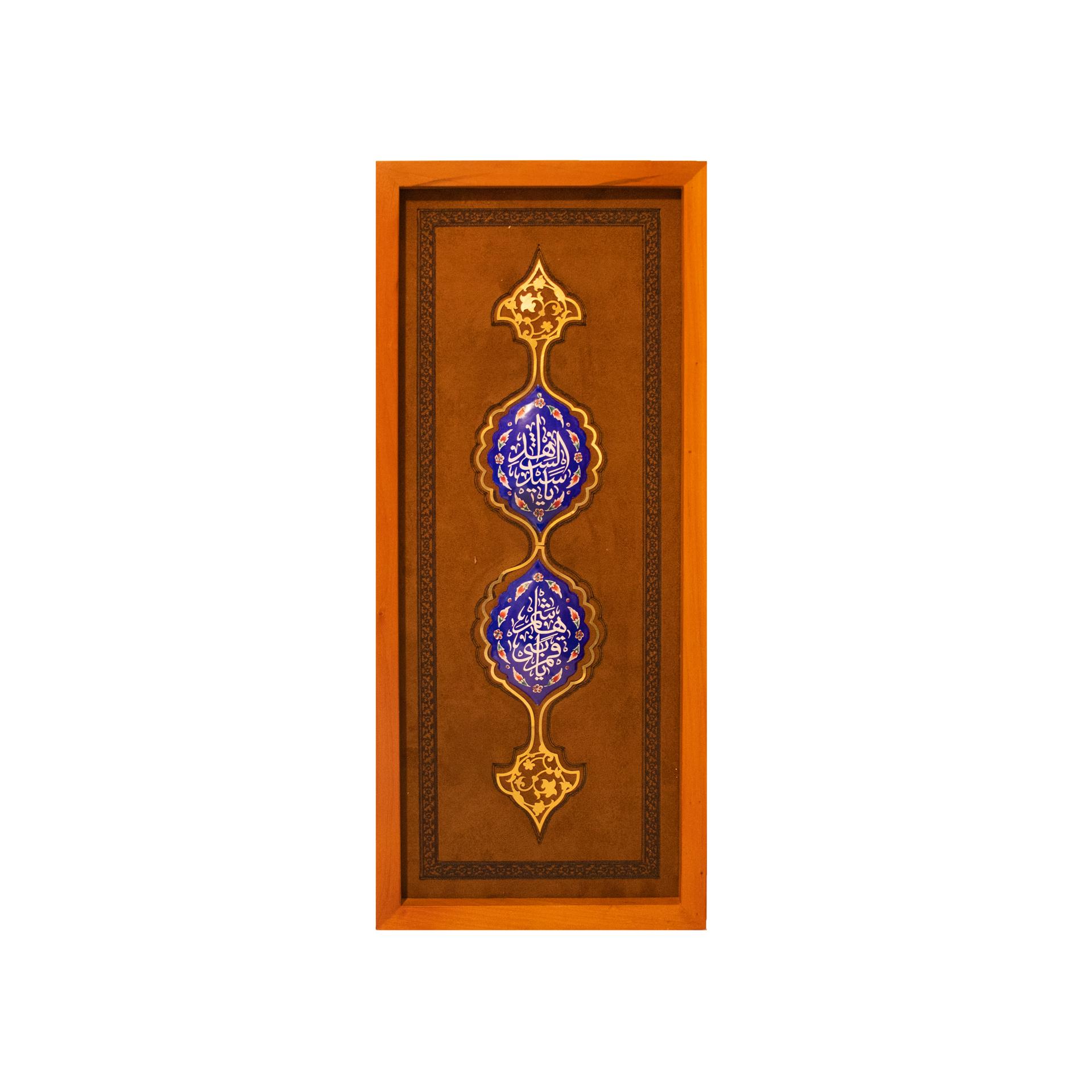 تصویر از قاب تمنا / امام حسین(ع) و حضرت عباس(ع)