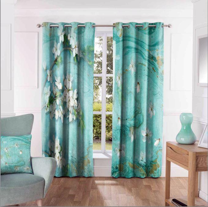 تصویر از پرده چاپی مدل curtain618