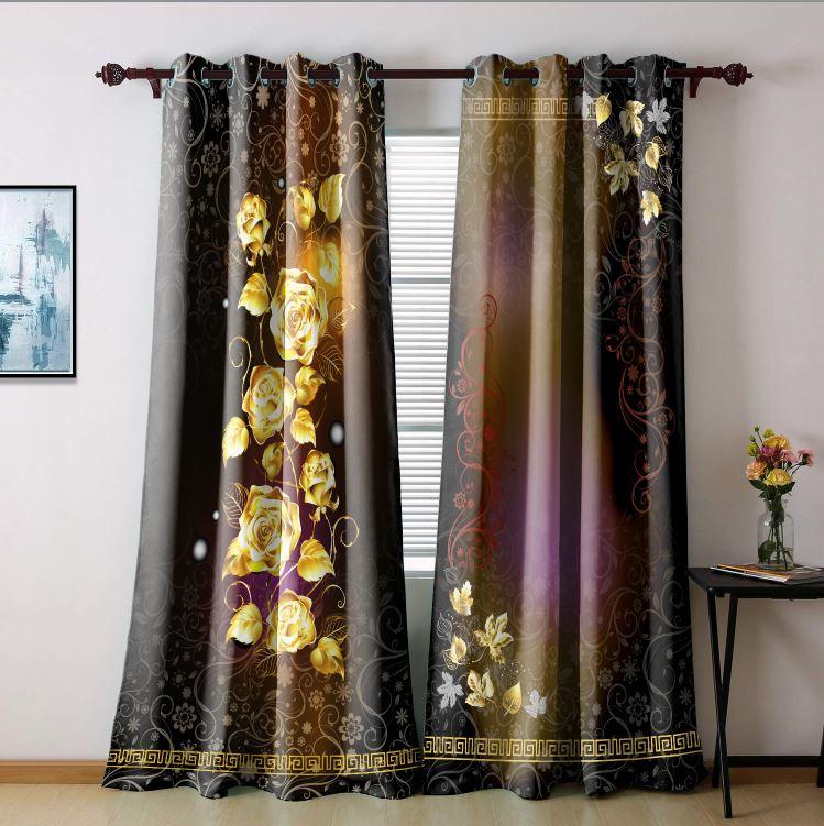 تصویر از پرده چاپی مدل curtain615