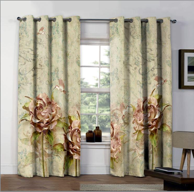 تصویر از پرده چاپی مدل curtain617