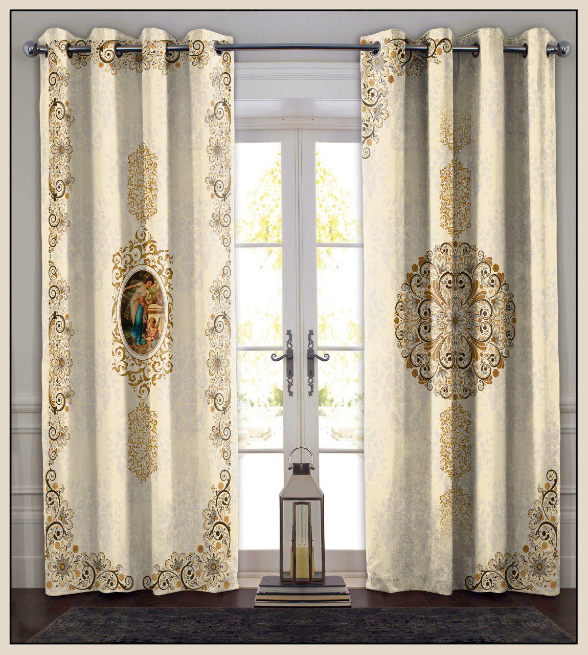 تصویر از پرده چاپی مدل curtain598