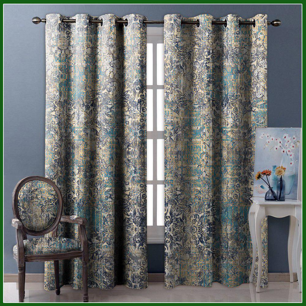 تصویر از پرده چاپی مدل curtain599