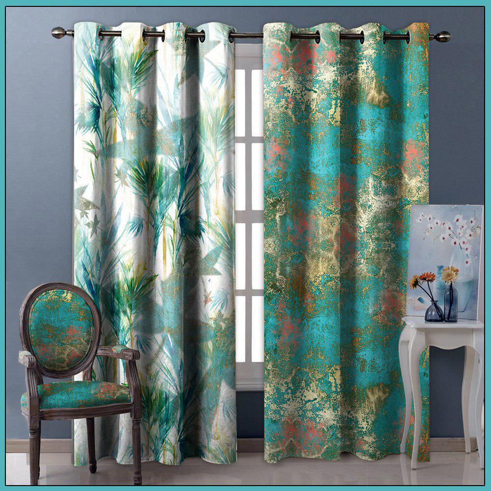 تصویر از پرده چاپی مدل curtain609